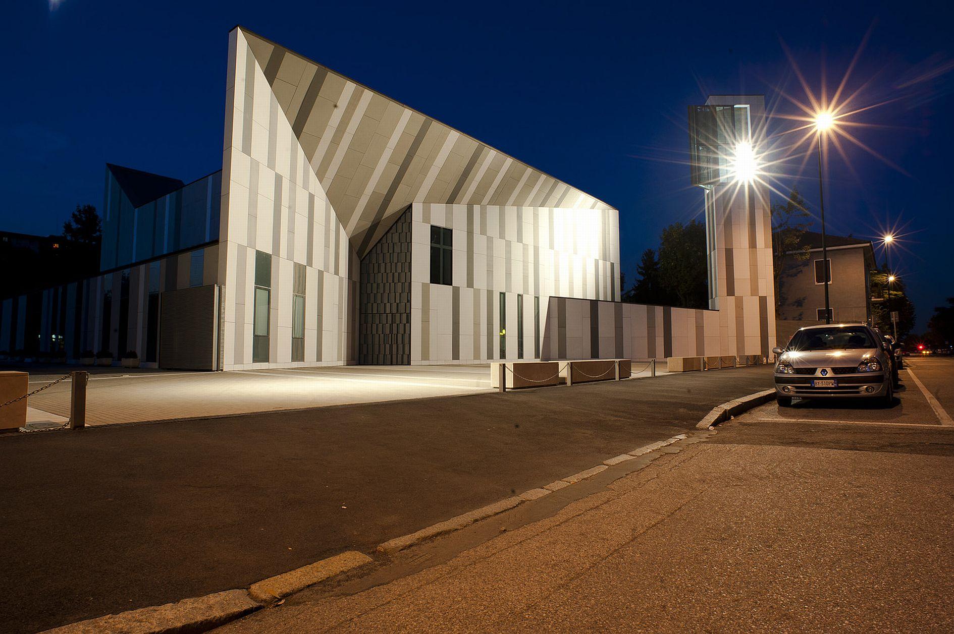 Sesto san giovanni l 39 illuminazione per la nuova chiesa for On off illuminazione milano