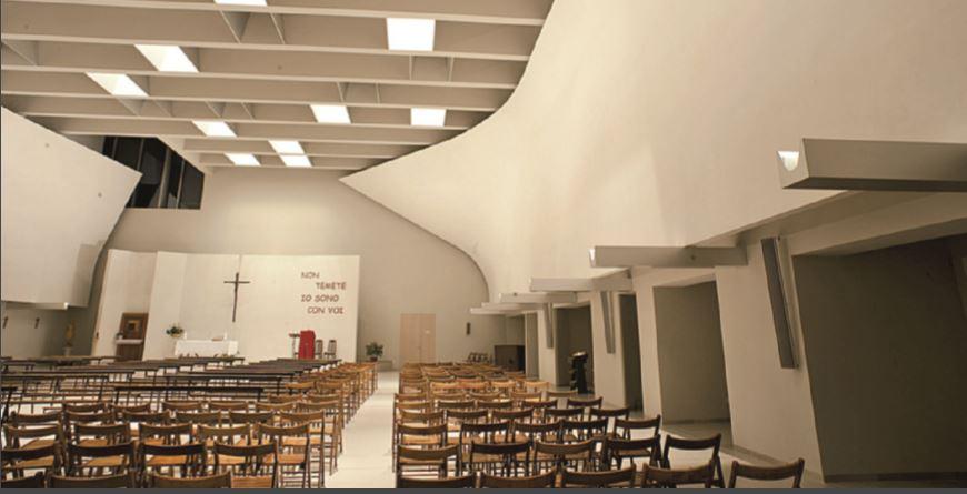 Sesto san giovanni l 39 illuminazione per la nuova chiesa for Progettista del piano interrato