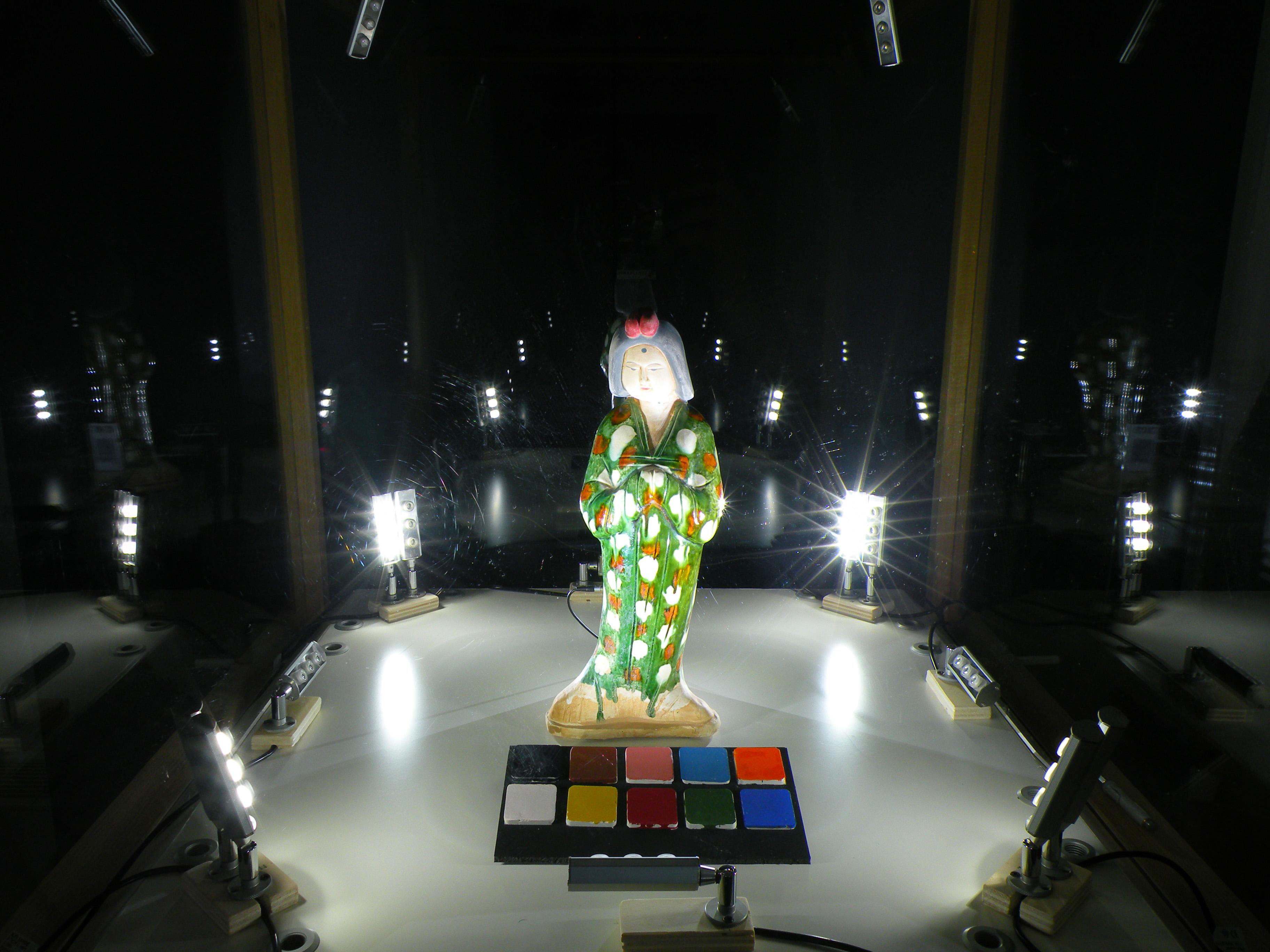 Sistemi led per applicazioni in vetrine museali luce e design