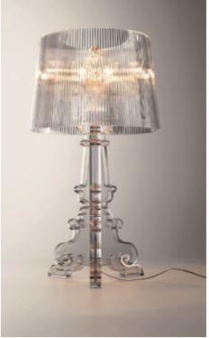 La lampada Bourgie, (2004) per Kartell (cortesia: Studio Laviani)