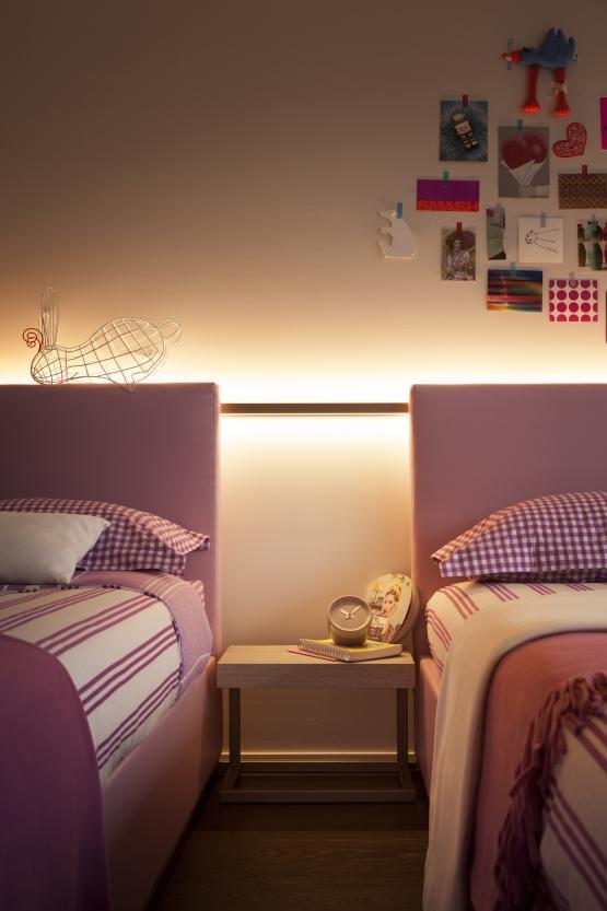 Quando l arredo che illumina luce e design - Scorpione e gemelli a letto ...