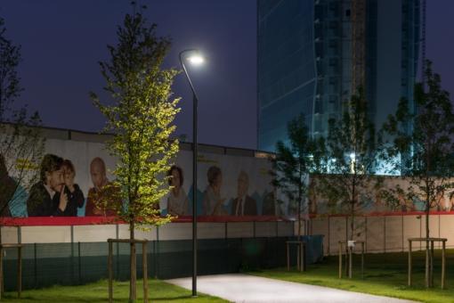 Luce LED sostenibile per il parco pubblico - Luce e Design