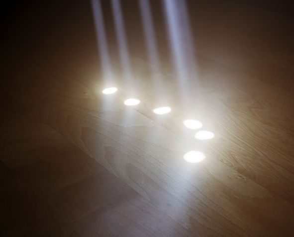 """Six Suns"" (2010), dalla serie 'Visible Light' (courtesy: Alexander Harding)"