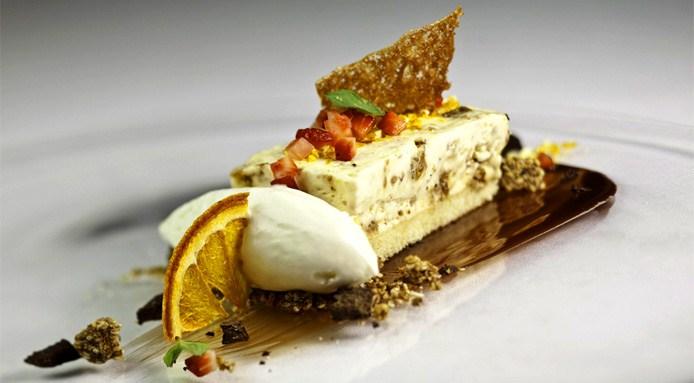 Un piatto dello chef Vincenzo Candiano (courtesy: Locanda Don Serafino – Ragusa)