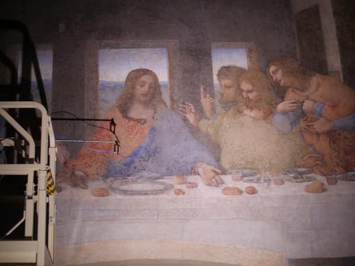 Una serie di immagini per presentare i differenti rilievi fotometrici effettuati sull'opera