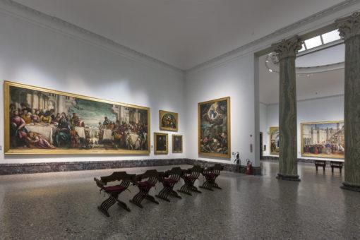 Sala IX. Un'altra vista della sala (cortesia: ERCO)
