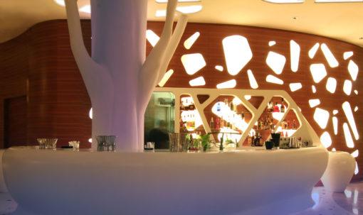 Bar Exedra Nice Hotel, Boscolo Group (2009) – Nizza (cortesia: Iosa Ghini Associati)