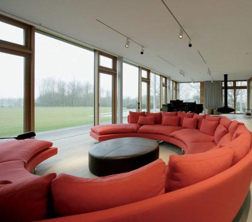 Il comfort della vista è molto importante per la scelta dell'illuminazione degli ambientida abitare (cortesia: Ingenhoven Architects - Düsseldorf - foto: Frieder Blickle, Amburgo)