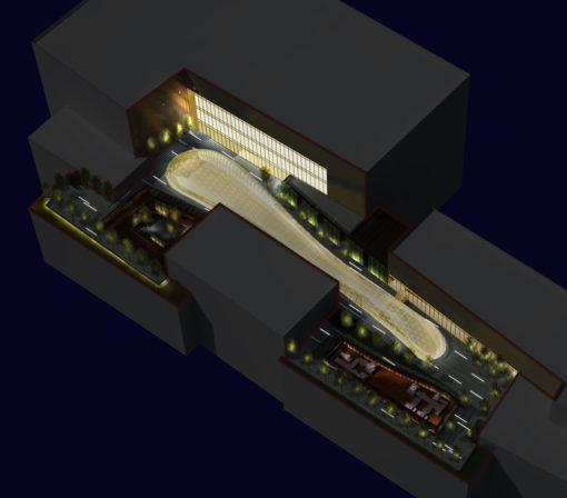 Studio per il tetto giardino (courtesy: LDPI)