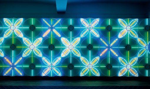 """Astrid Krogh - Un'altra combinazione di pattern e colore di """"Polytics"""""""