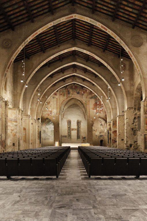 Bergamo, ex Chiesa di Sant'Agostino, nuova Aula Magna dell'Università di Bergamo (cortesia: BS I A)
