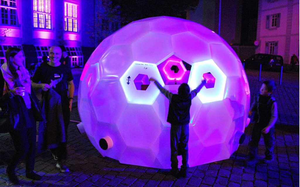 Geodesic Sound (photo courtesy of © Luminale 2016)