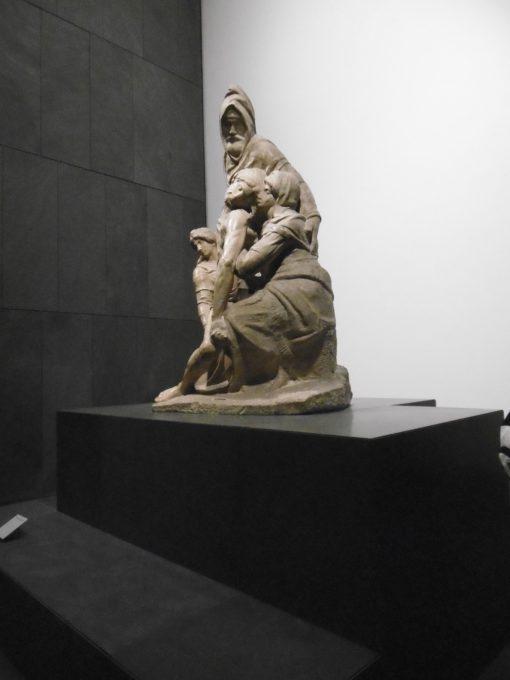 """La """"Pietà Bandini' di Michelangelo Buonarroti (1547-1555) (cortesia foto: R. Villa)"""