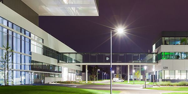 Un'altra immagine del Centro di Ricerca