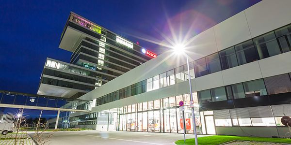 Centro di Tecnologia e Innovazione Robert Bosch di Renningen, nei pressi di Stoccarda, in Germania.