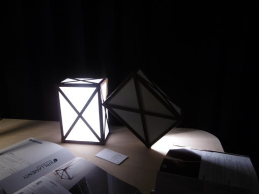 "La lampada ""Lanternina"" (design: Roberto Cardin)"