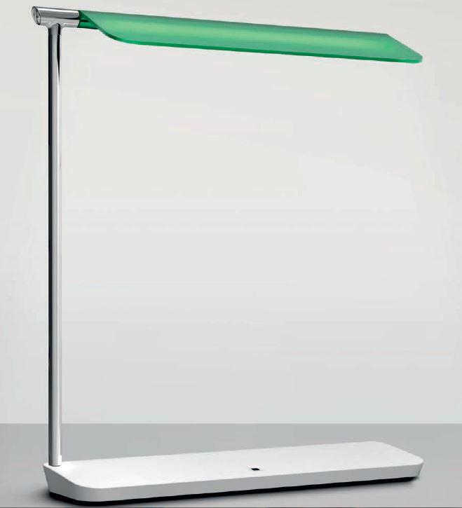 """La lampada """"Pan"""" (design: Giuseppe Maurizio Scutellà) è un'interessante rilettura di una lampada di lettura degli anni '30 (courtesy photo: Artemide)"""