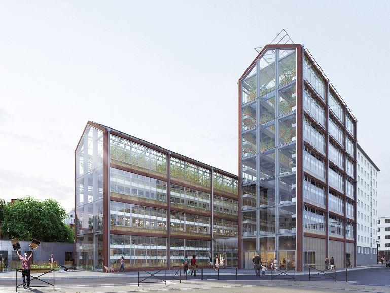 Parigi luce naturale e illuminazione led per gli orti for Architettura a parigi