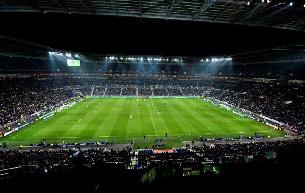 """Lione, """"Stade des Lumieres"""" -Parc Olympique Lyonnais, (courtesy photo: Stephane Guiochon)"""