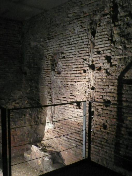 Roma. Resti dello Stadio di Domiziano nei sotterranei dell'Ecole Francaise, Piazza Navona (cortesia Alessandra Reggiani)