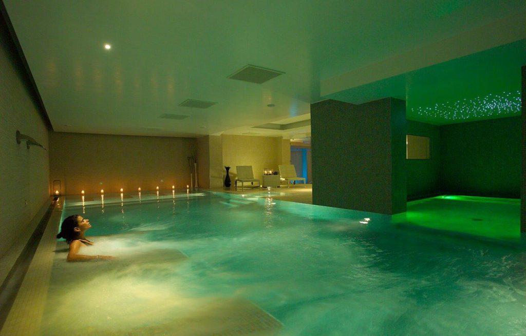 SILVA SPA, Fiuggi (Rm). Vista della piscina (Cortesia Studio ita2a)