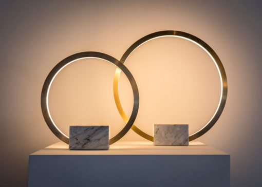 """Portal Table Lamp"", Christopher Boots (courtesy photo:"