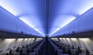 STG Aerospace, scenari LED in volo