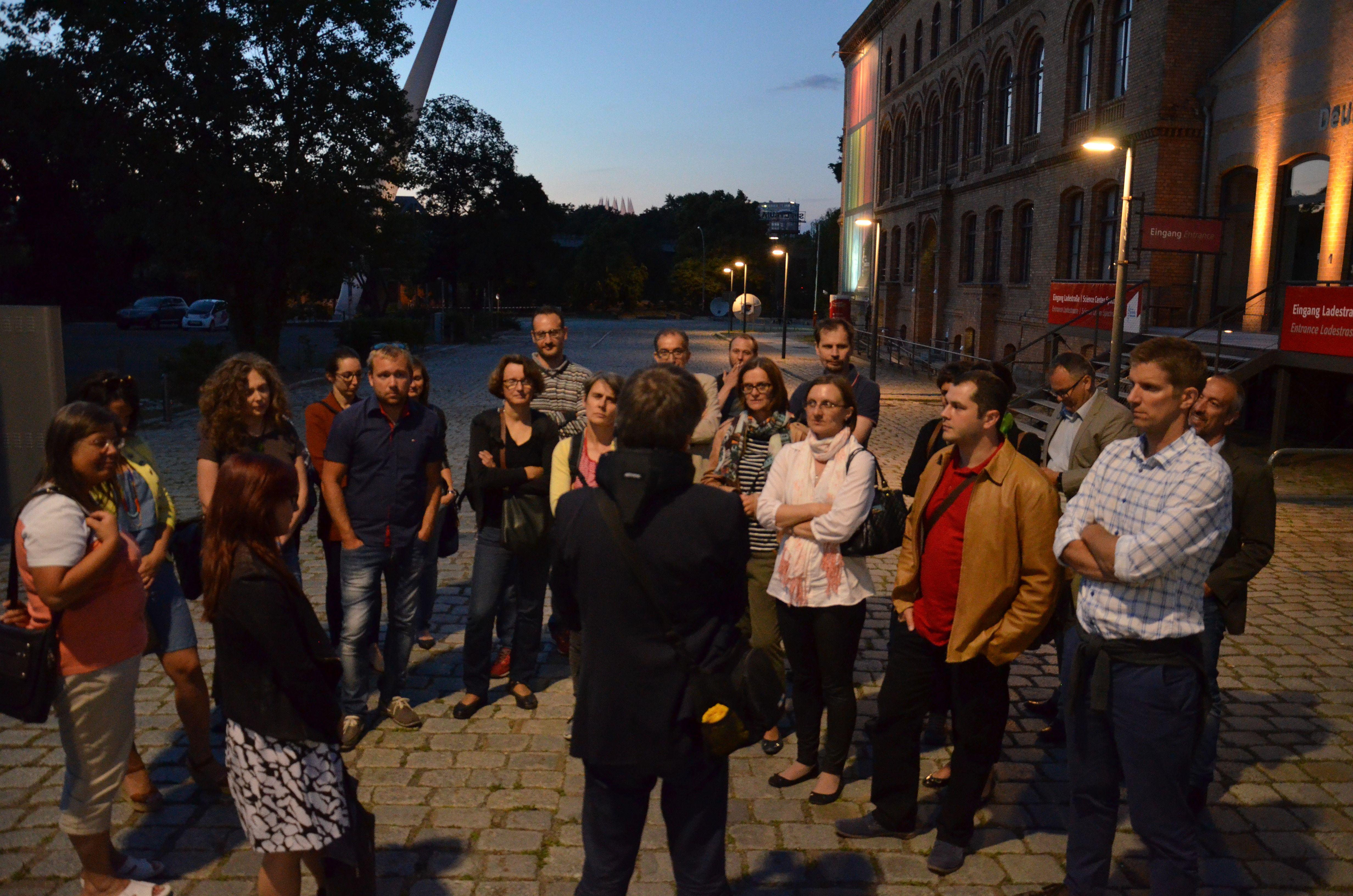 """Progetto europeo """"Dynamic Light"""". Un'immagine con alcuni dei partecipanti dell'incontro di Berlino"""