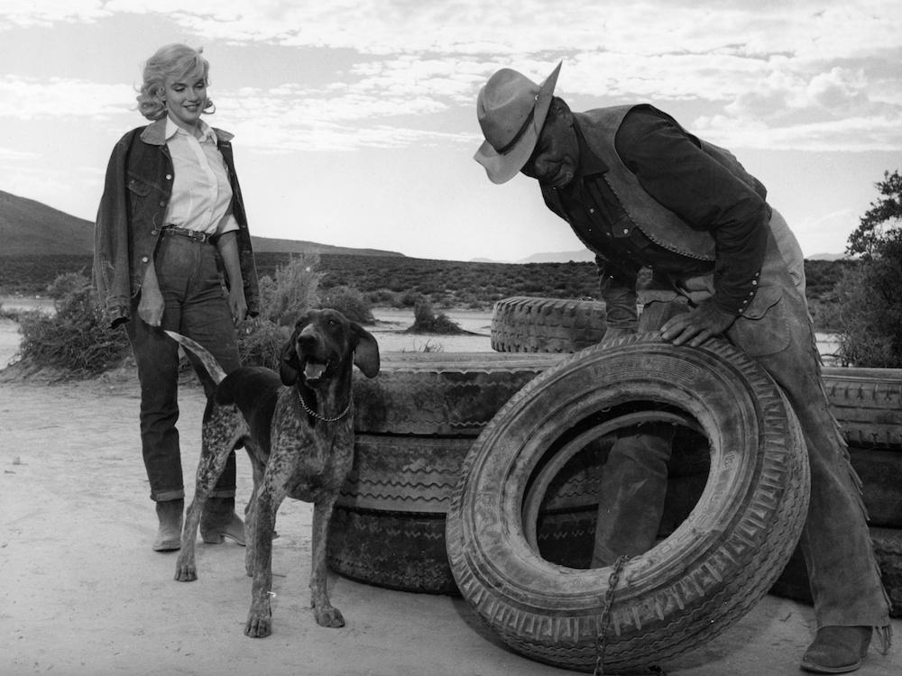 Marilyn Monroe e Clark Gable