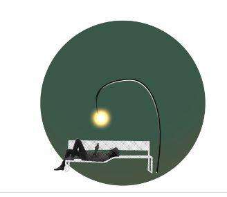 Shanghai, Huang Pu River. Un altro studio per l'illuminazione degli spazi urbani (courtesy: Loeïza Cabaret, Agence CONCEPTO)