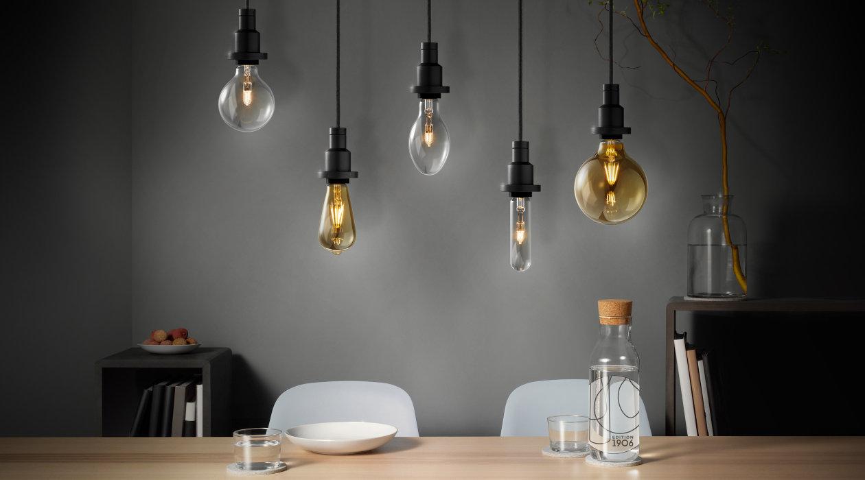 Pendulum e le lampade led a filamento il ritorno di for Led lampade