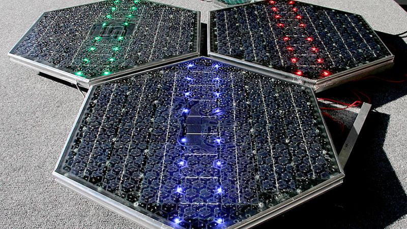 Altri pannelli con segnalazioni LED