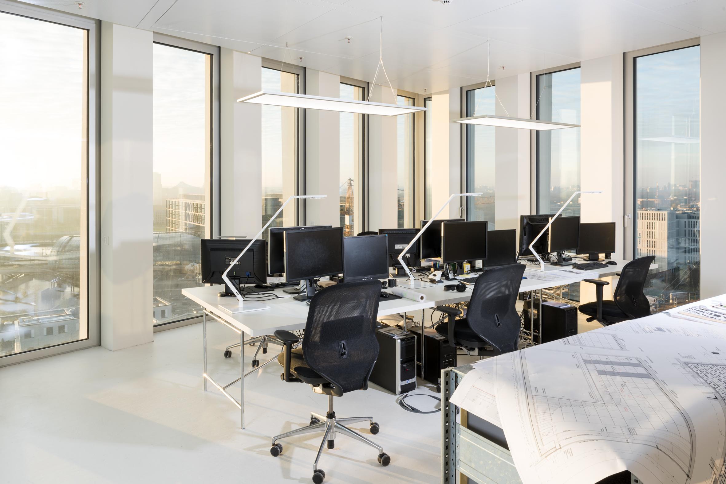 Luci Per Ufficio Milano : Berlino atelier eike becker architekten luce per l ufficio
