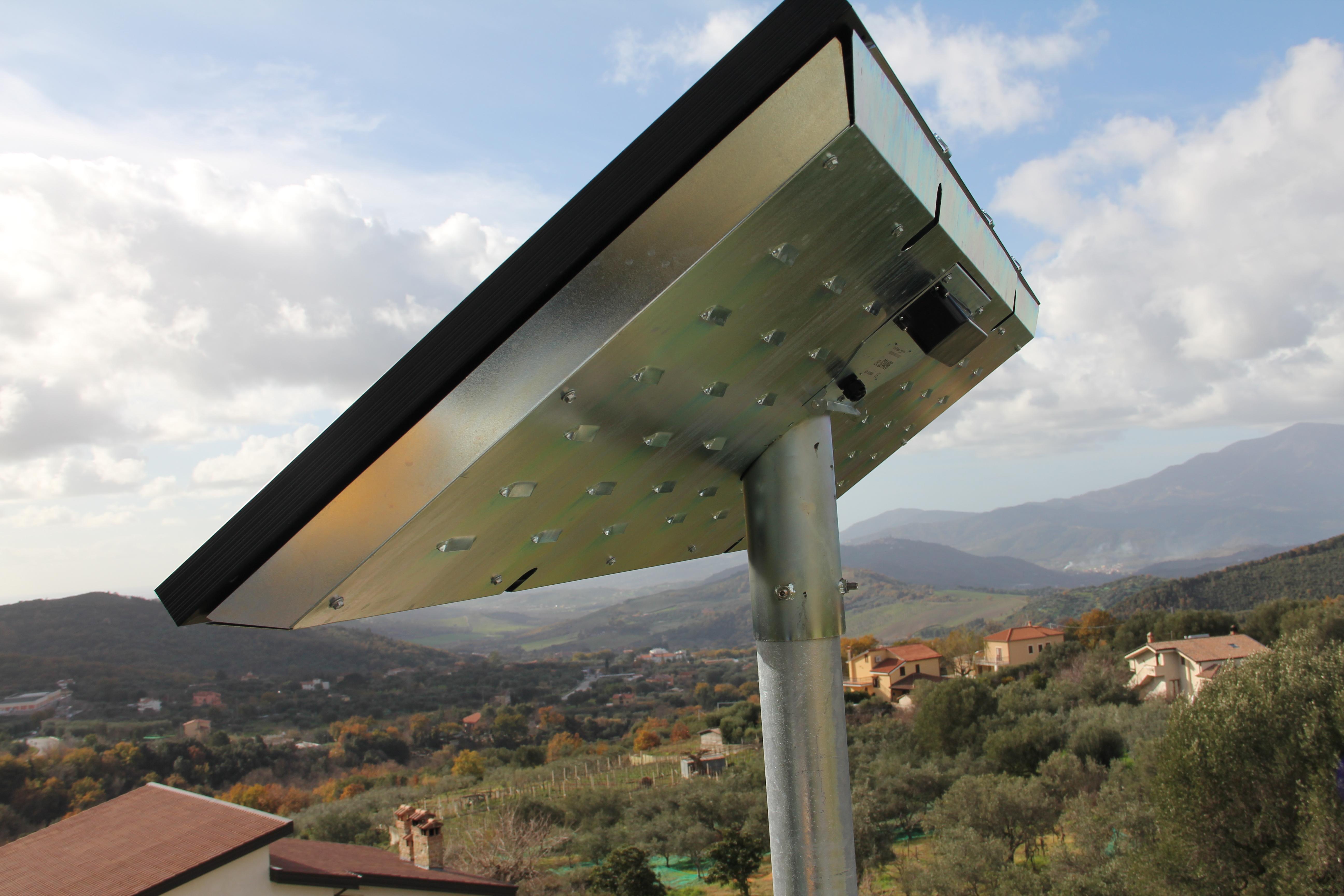 illuminazione nei centri rurali