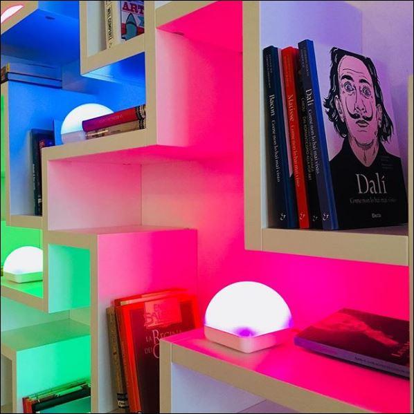 Un'immagine Instagram dell'arch. Marco Acerbis, designer di Dice, sistema IoT per la misurazione dei consumi elettrici