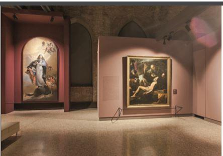 2. Un'altra sala della mostra (cortesia: Zumtobel Illuminazione)