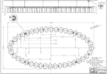 """Uno studio dell'apparecchio per la hall in esecuzione """"custom"""" serie Logico a soffitto (cortesia: Artemide)"""