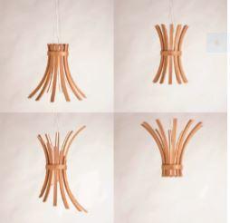 """LightCube ha collaborato con Laura Modoni e """"2G-Vivere nel legno"""" per la realizzazione, l'ingegnerizzazione e la prototipazione di Filò: una lampada a LED riconfigurabile. Il progetto è risultato vincitore del concorso Design Award 2013 promosso da FSC-Italia (cortesia: LightCube)"""
