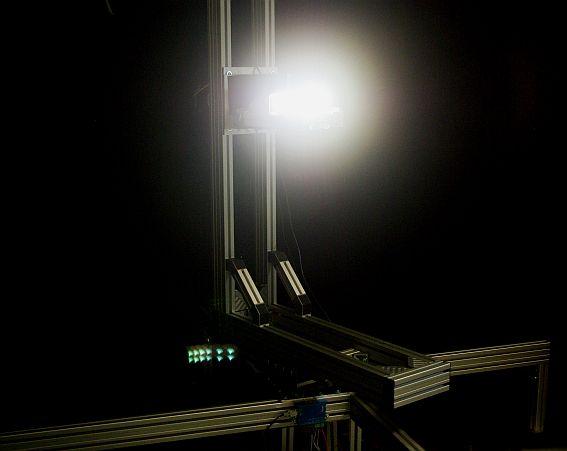 Strumenti di misura allo stato dell'arte, come il fotogoniometro da 2m, consentono una caratterizzazione avanzata dei sistemi LED (cortesia: LightCube)