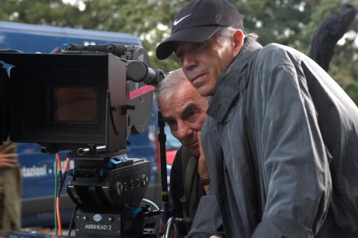 """Danilo Desideri sul set di """"Il mio miglior nemico"""" (2005) di Carlo Verdone (cortesia: Danilo Desideri) (photo: Roger Do Minh)"""