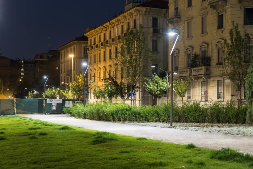 Parco pubblico di Milano