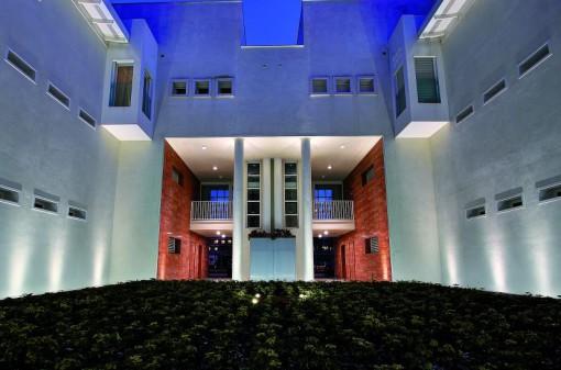 Residence Ponte de Pria, Treviso, Italia – Vista generale dell'insieme (Cortesia L&L Luce&Light )