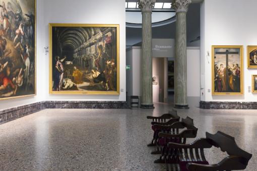 """Sala IX. Jacopo Tintoretto - """"Il ritrovamento del corpo di Sam Marco"""" (1562) (cortesia: ERCO)"""