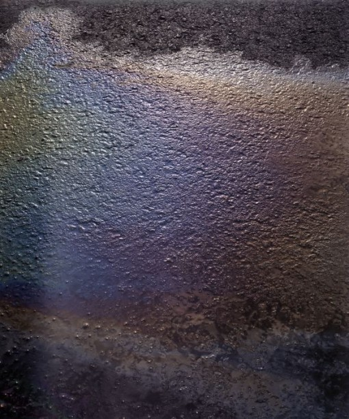 """Oil Spill"" (2011), dalla serie 'Visible Light' (courtesy: Alexander Harding)"