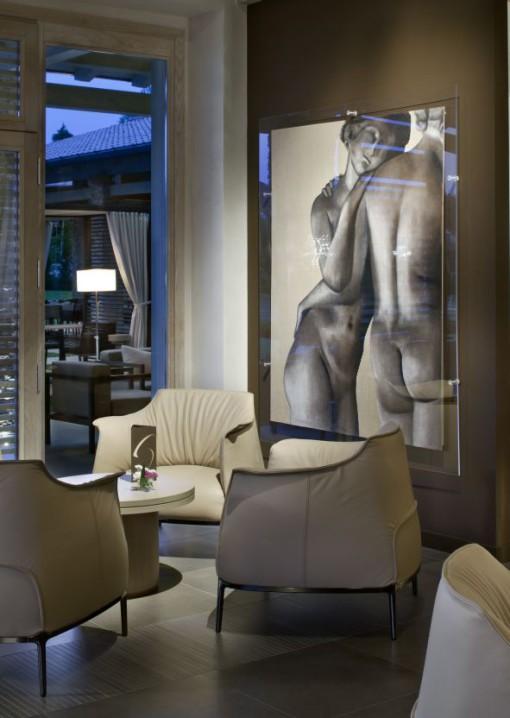 Un'immagine del lounge bar (cortesia: Studio Urbano)