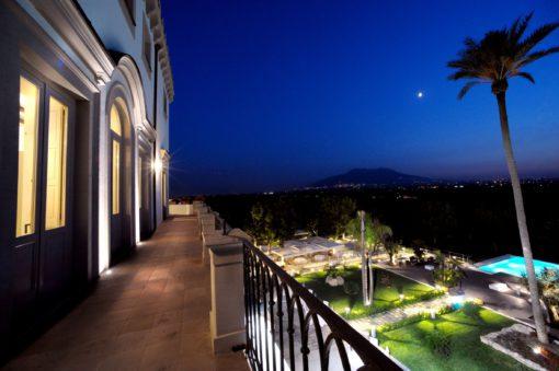Villa Montesano. Uno splendido colpo d'occhio sulla pianura (cortesia: F.lli Francesconi)