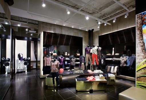 Un'immagine di uno dei nuovi concept store Le Garage (cortesia: Reggiani Illuminazione)