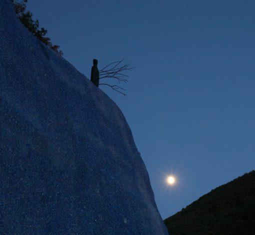 Solopaca, Acquedotto Alto Calore. Ancora una bella immagine del sito…sotto lo sguardo benigno di Cerere e della Luna! (cortesia: Cannata & Partners Lighting Design; foto: arch. Pasquale Palmieri)