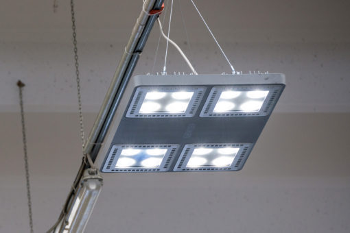 Led ed alta efficienza nellilluminazione industriale luce e design