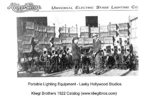 Un'immagine del catalogo dei Kliegl Bros. del 1922